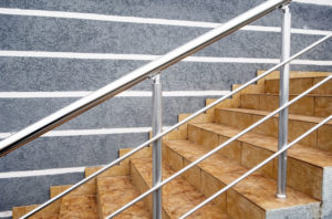 Shot Blasting Services Metal Architecture Handrail Cleaning